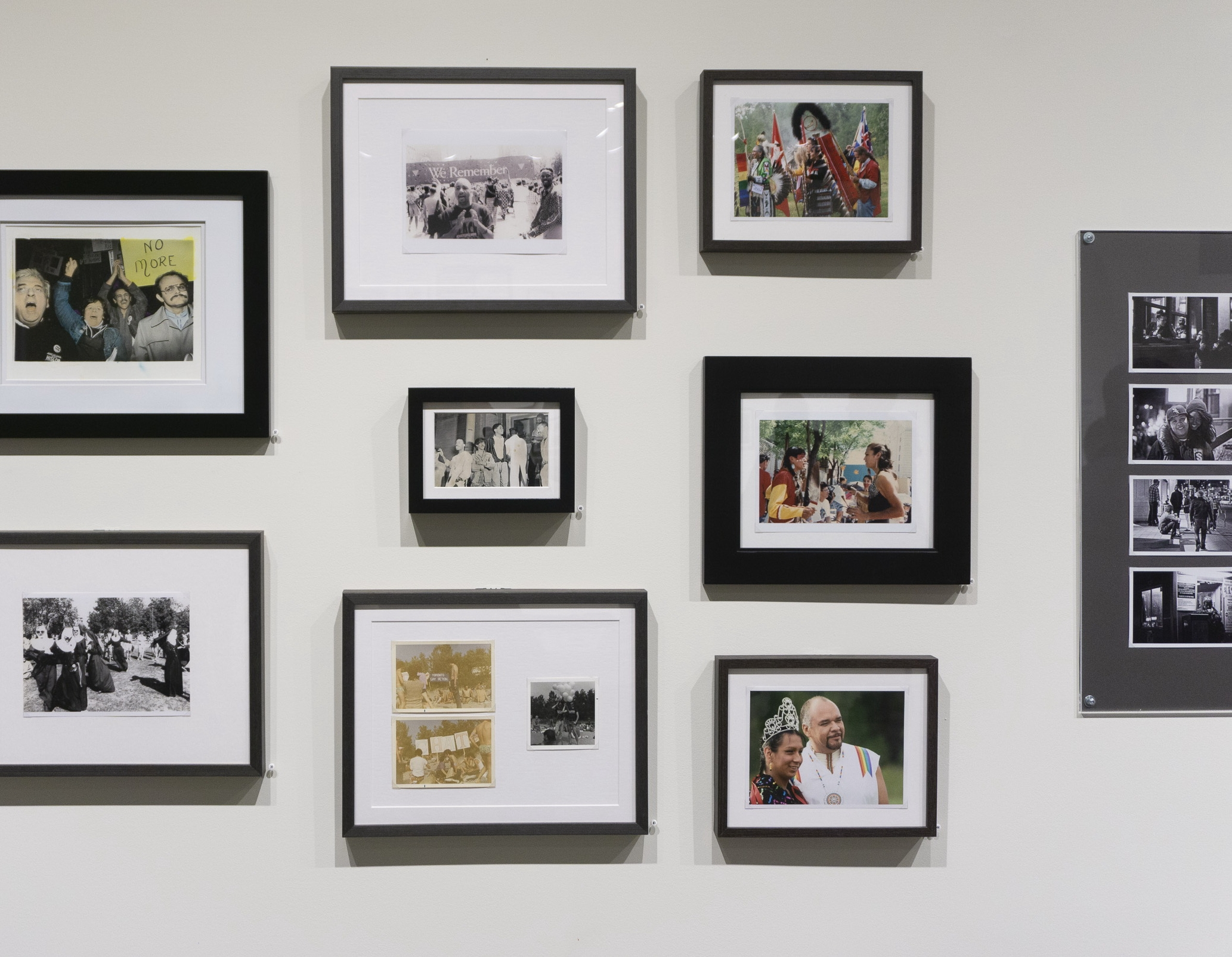 Installation Of Queering Family Photography At Stephen Bulger Gallery Photo